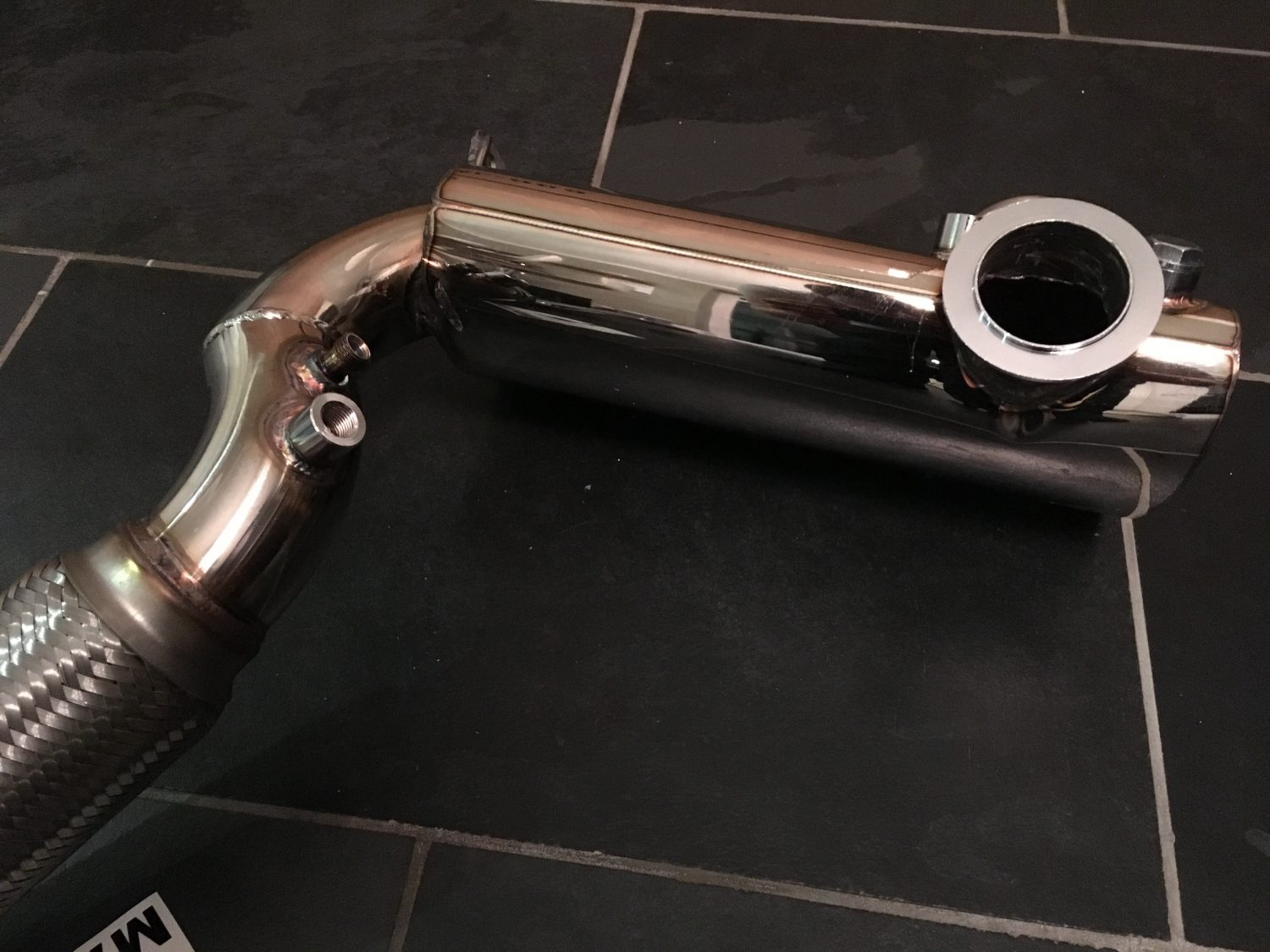 Skoda Octavia VRS 2 0 TDi DPF Removal Stainless Performance Exhaust Pipe