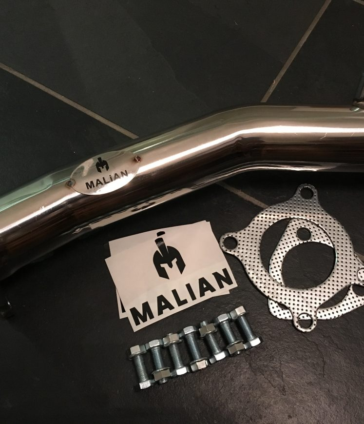 Audi A4 (B7) 2.0T FSi Stainless Performance Exhaust Cat