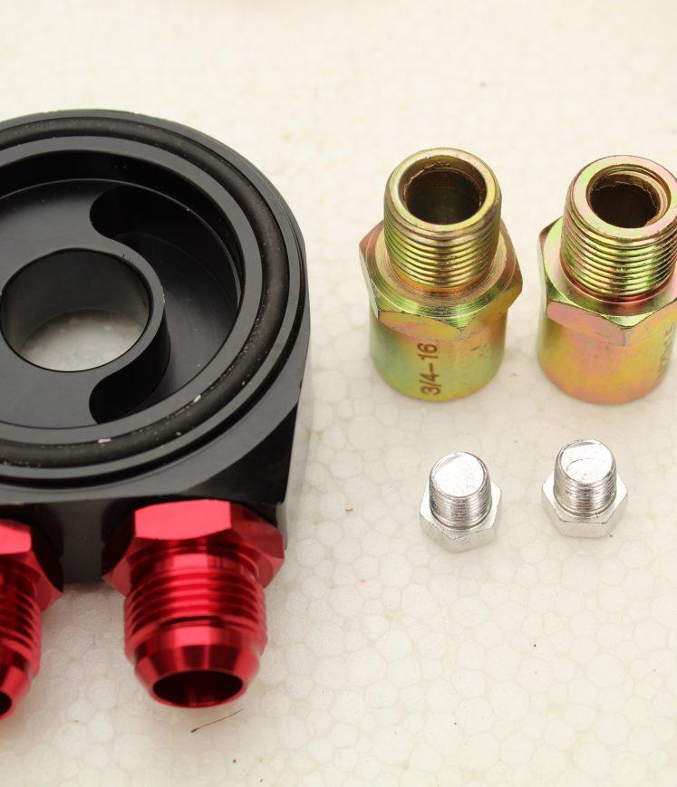 Performance 25 Row Oil Cooler Kit + HKS Filter For Nissan
