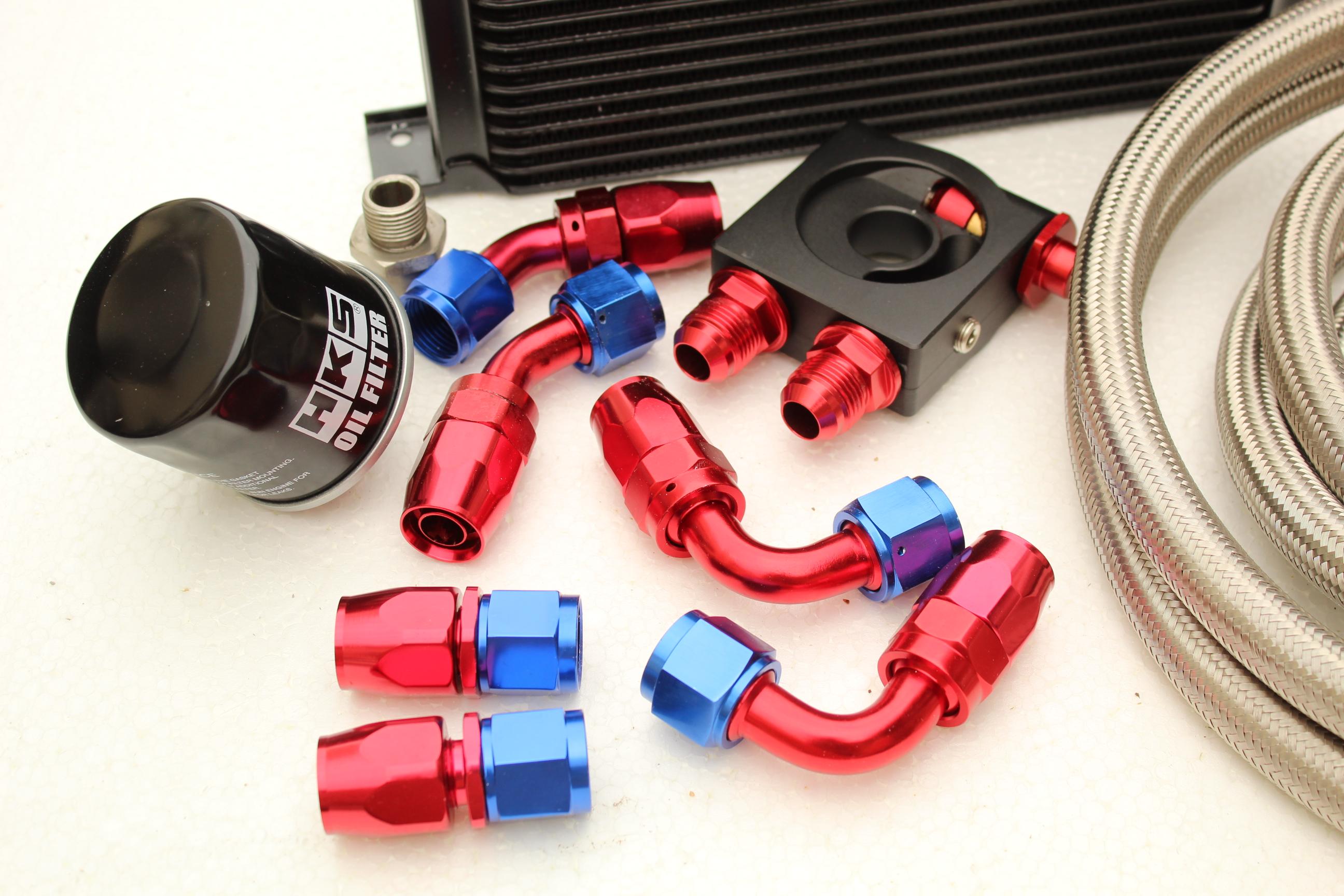 HKS Filter for Subaru Impreza WRX//STi All EJ20//25 Performance Oil Cooler Kit